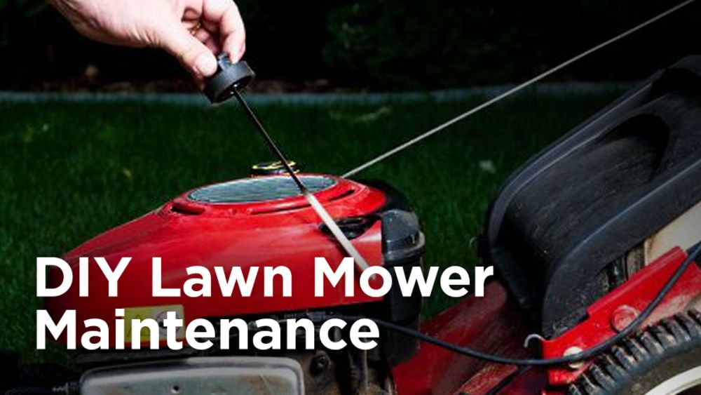 DIY Lawn Mower Maintenance