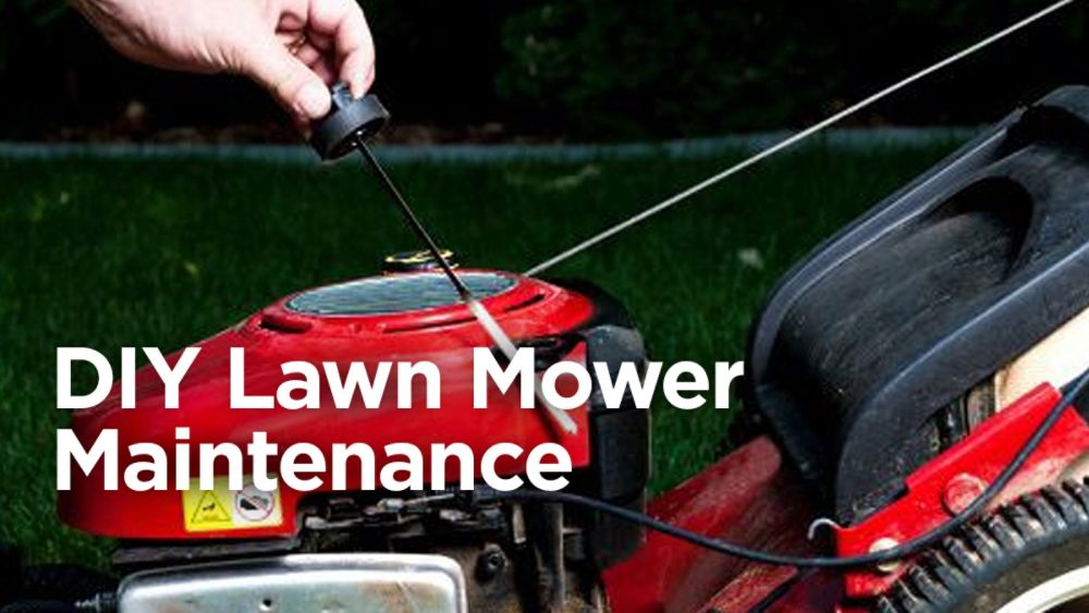 DIY Lawn Mower Maintenance