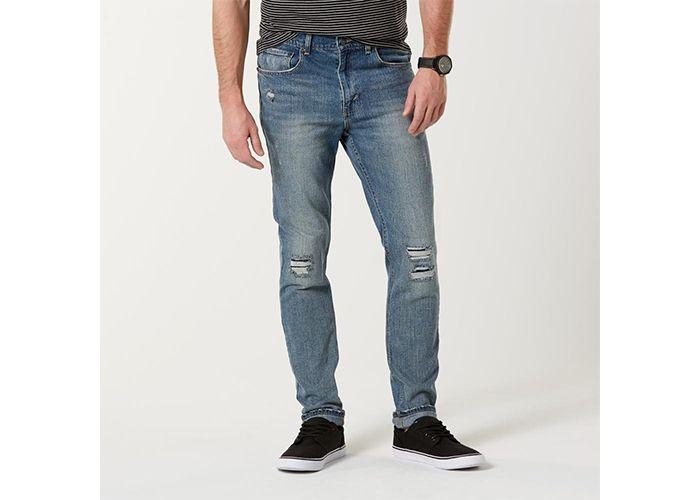 Roebuck & Co. Men's Distressed Skinny Jeans