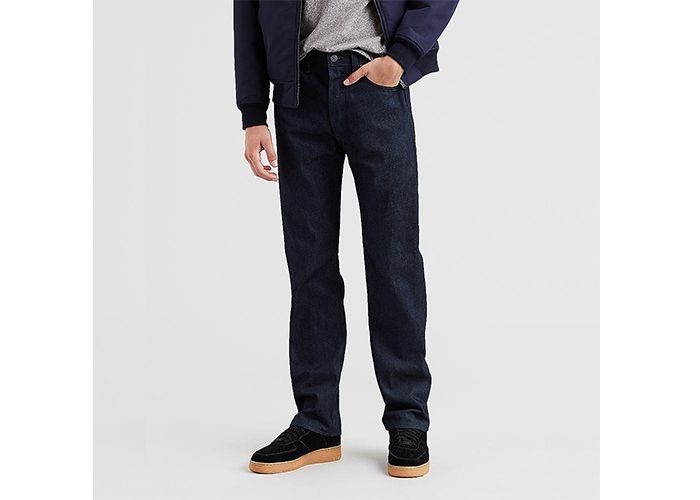 Levi's Men's 501 Original Shrink-to-Fit Jeans in Midnight