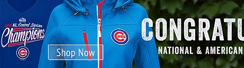 Congratulations National & American League Champions Shop Cubs