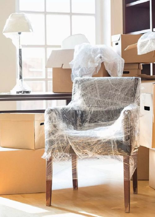 Wrap your furniture to help prevent damage while moving