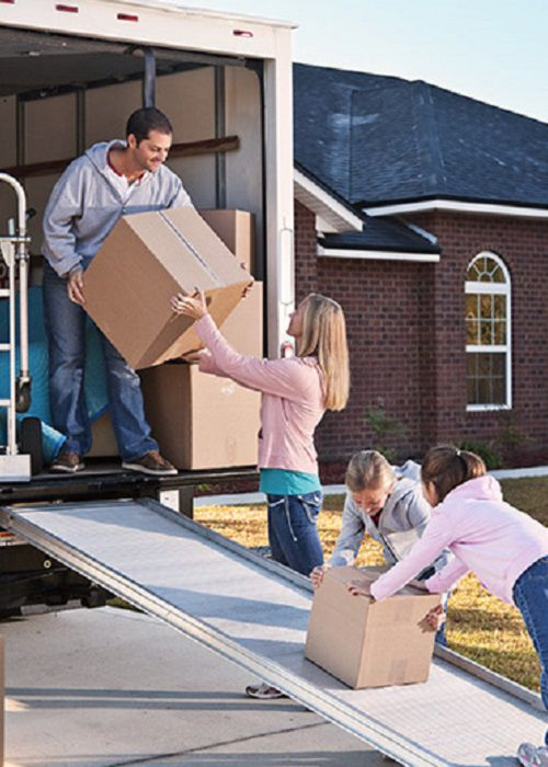 Pack the truck carefully with your furniture