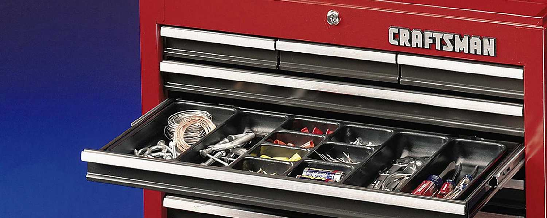 Organized tool box