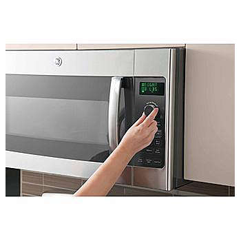 Countertop Microwave Above Stove : Countertop vs. Over-the-Range Microwaves