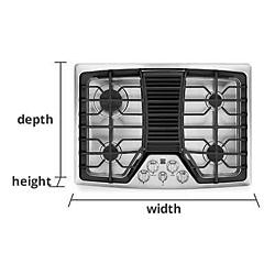 Cooktops Measurement Guide