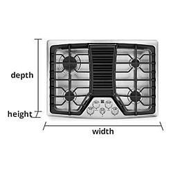 Cooktops Measurement Guide