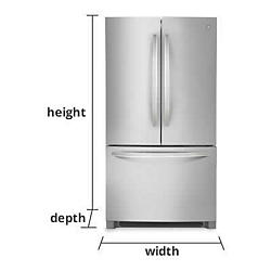 Refrigerators Measurement Guide