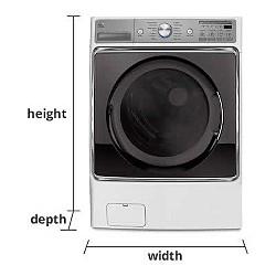 Washers & Dryers Measurement Guide