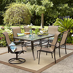 sling chairs statesville padded hampton compressed dining the home depot bay outdoor swivel patio chair furniture outdoors pack b n