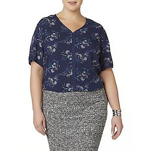 Simply Emma Women's Plus Kimono Tops $8