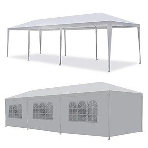 10'x30' White Canopy 5 Removable Walls $75