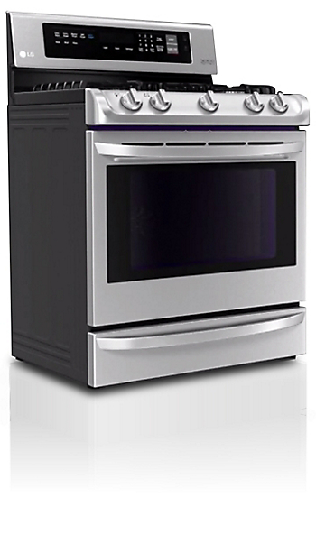 the new lg ranges strike a great balance between smart technology impressive cooking performance and stylish design