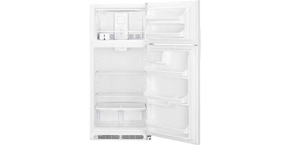 Reversible refrigerator door