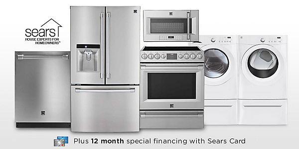 Sears appliance hook up