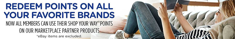 Redeem Points on all your favorite brands