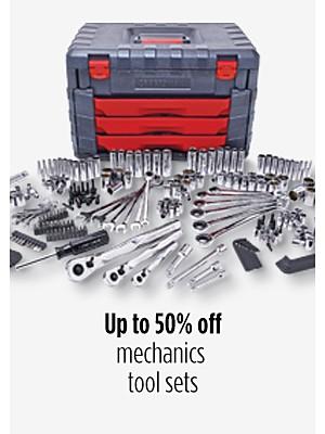 Up to 50% off mechanics tool sets
