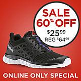 Sale $25.99 - Reebok Women's Sublite XT Cushion 2.0 Black Running Shoe