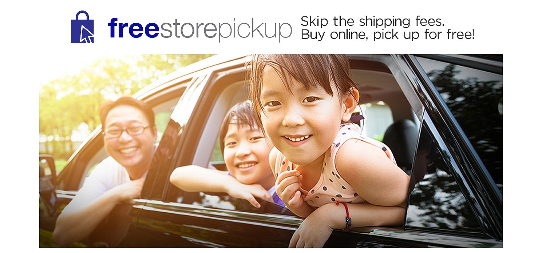 Free Store Pickup