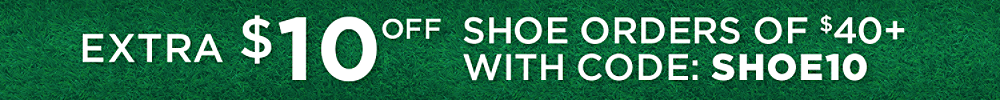 Extra $10 off shoe orders of $40+ with code: SHOE10