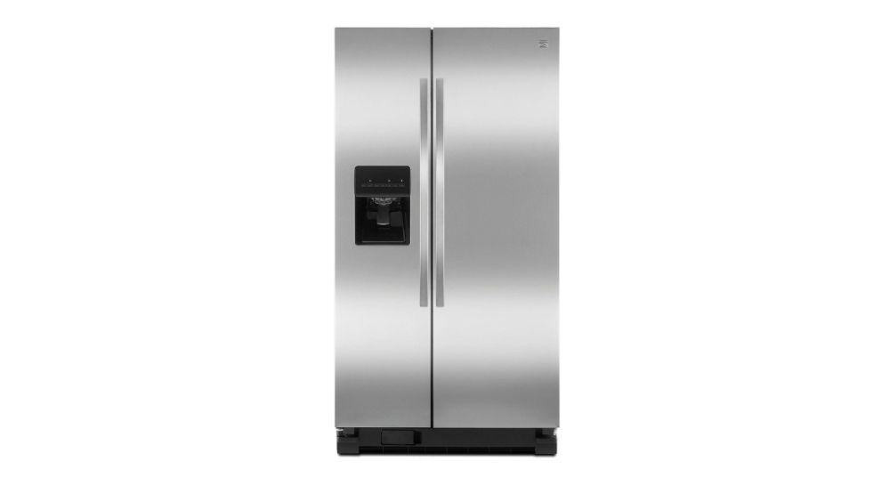 Kenmore - Refrigerador de 25.4 pies cúb. con dos puertas verticales