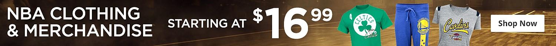 NBA starting at $16.99