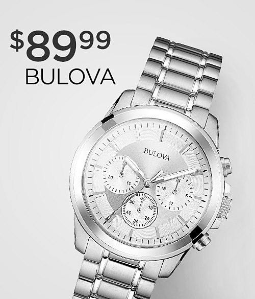 Shop Bulova Special Buys