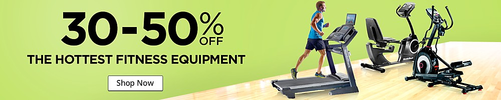 Awesome deals on featured treadmills, ellipticals, exercise cycles and strength training!