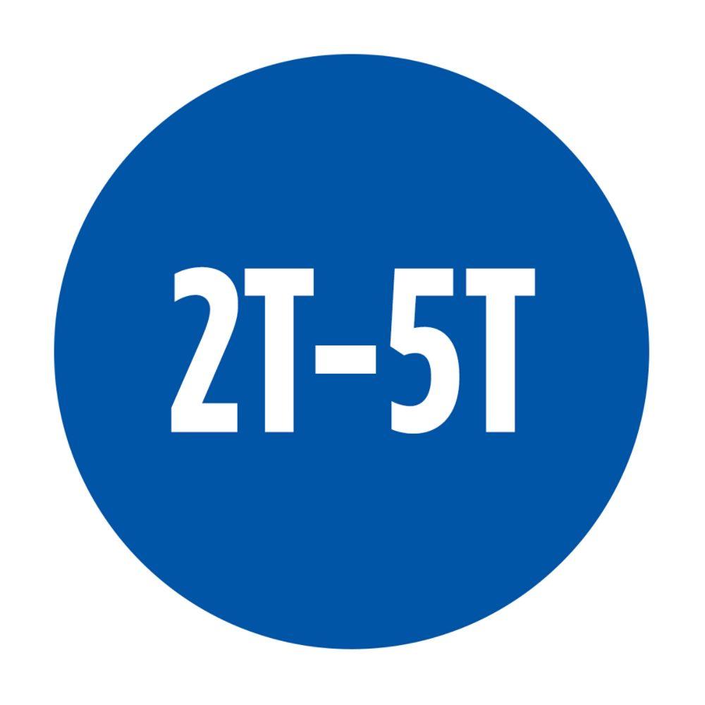 2T-5T