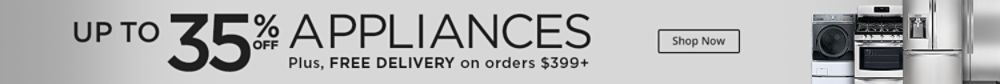up to 35% off Appliances