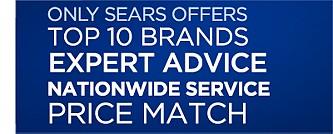 Top Brands, Expert Advice, Price Match