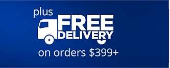 FREE Delivery on orders $399+