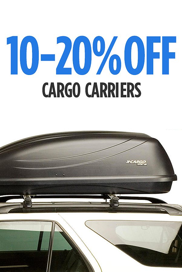 10-20% off Cargo Carriers sold by Sears