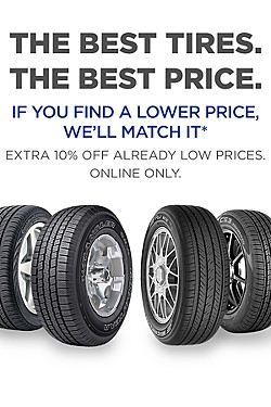 The best tires. The best price.