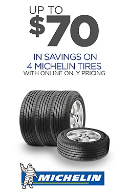 Michelin - Up to $70 off on 4