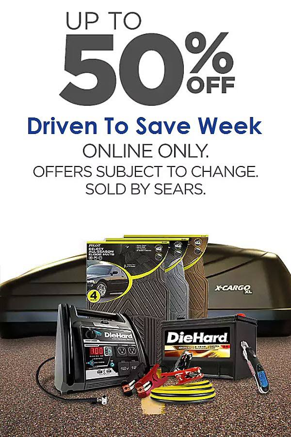 Save during Driven 2 Save Week!