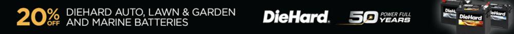 Total 20% DieHard Batteries - online only