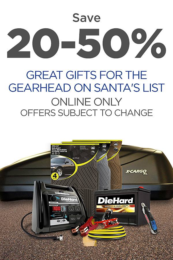 Great Gifts for Gearheads at up to 50% off