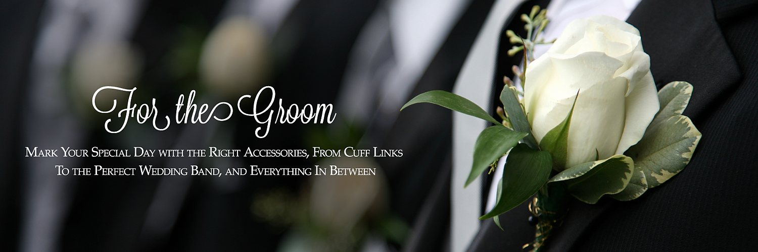 Jewelry for the Groom