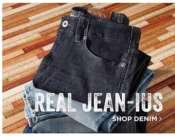 Real Jean-us! Shop Denim