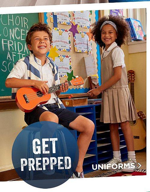 Get Prepped! Shop School Uniforms
