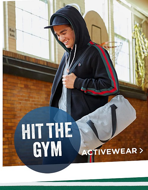 Hit the Gym! Shop Activewear