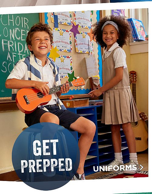 Get Prepped! Shop School Uniforms
