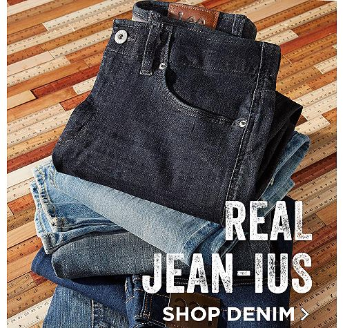 Real Jean-us! Shop Denim