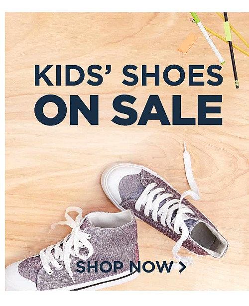Kids' Shoes on Sale