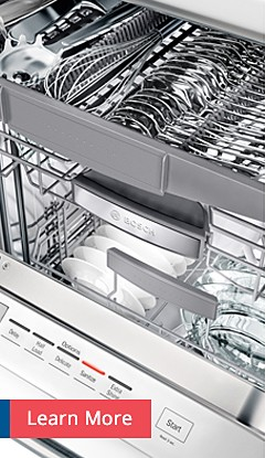 Learn More Bosch Dishwashers