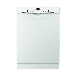 """Bosch 24"""" Built-In Dishwasher White"""