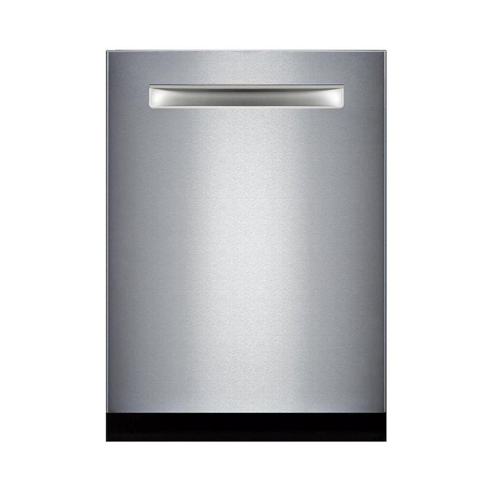 "Bosch 500 Series 24"" Pocket Handle Dishwasher - Stainless Steel"