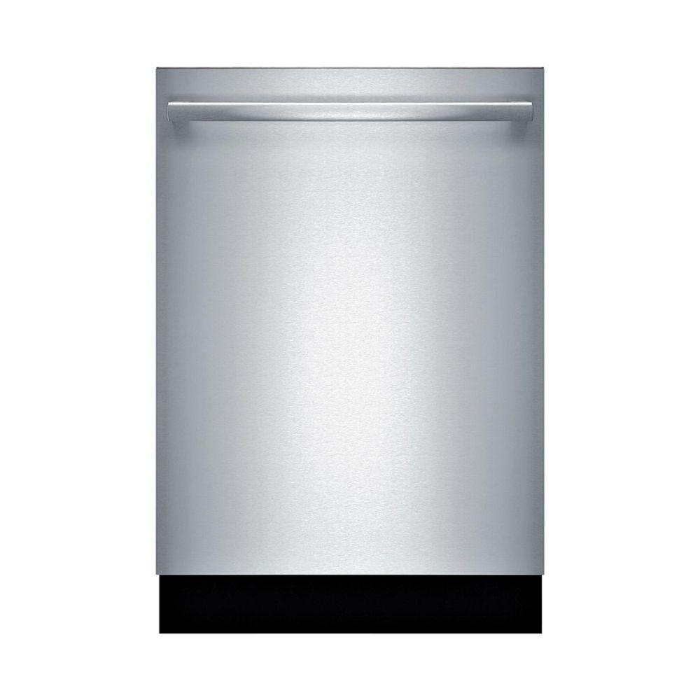 "Bosch 800 Series 24"" Bar Handle Dishwasher - Stainless Steel"