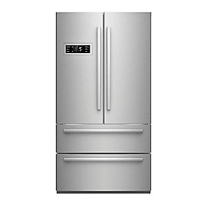 "Bosch 36"" Counter Depth French Door Bottom Freezer 800 Series - Stainless Steel"